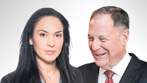 Blackstone Israel Senior Managing Director, Yifat Oron (left) and Chairman Dan Gillerman. Photo: Courtesy