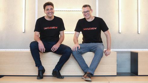 Locusview founder Shahar Levi (left) and Assaf Harel, General Partner at IGP. Photo: Moti Vagman