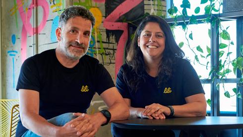 Lili CEO Lilac Bar David (right) and CTO Liran Zelkha. Photo: Lili