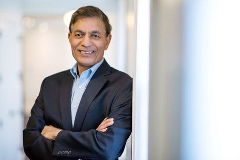 Jay Chaudhry CEO of Zscaler Photo: Bloomberg