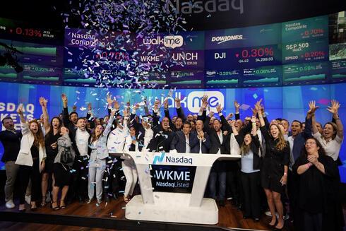 WalkMe Nasdaq launch in June