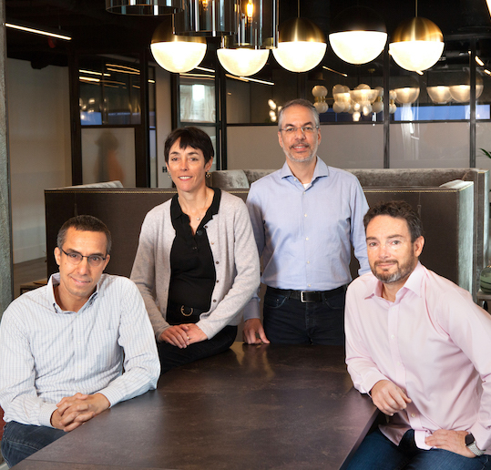 83North partners, Yoram Snir (from right), Gil Goren, Laurel Bowden and Arnon Dinur. Photo: Courtesy