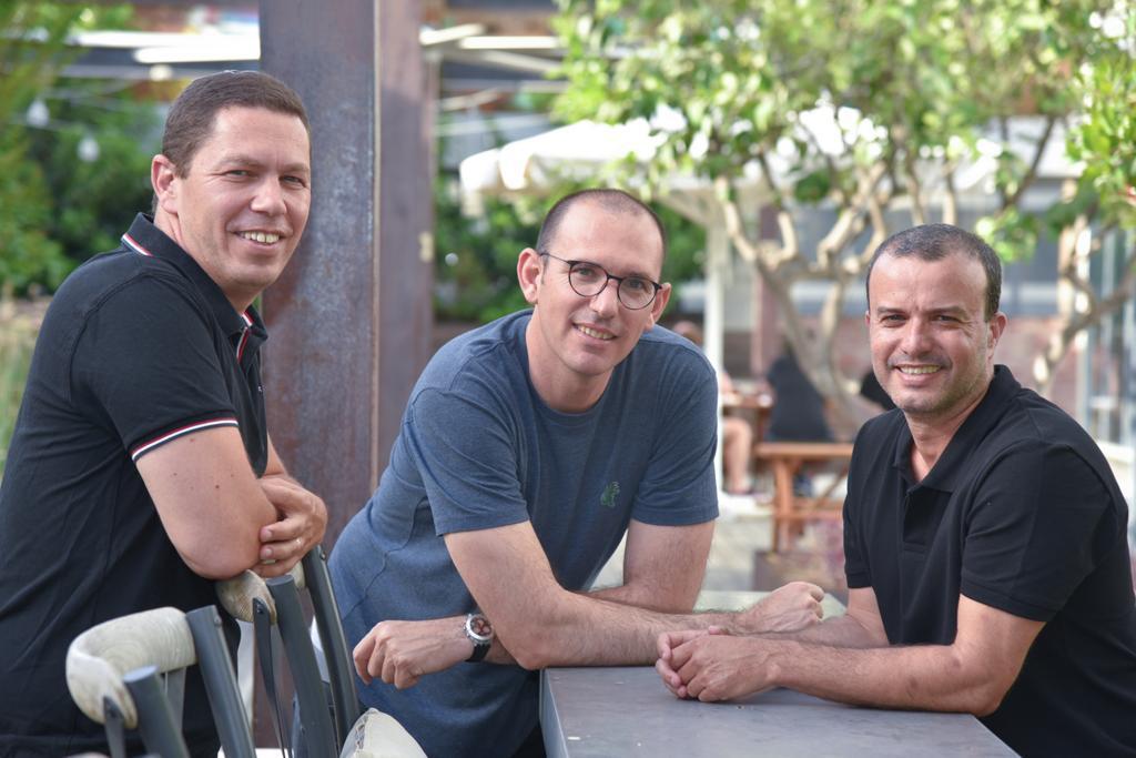 8fig co-founders Assaf Dagan (CTO), Roei Yellin (CRO) and Yaron Shapira (CEO). Photo: Look Photography