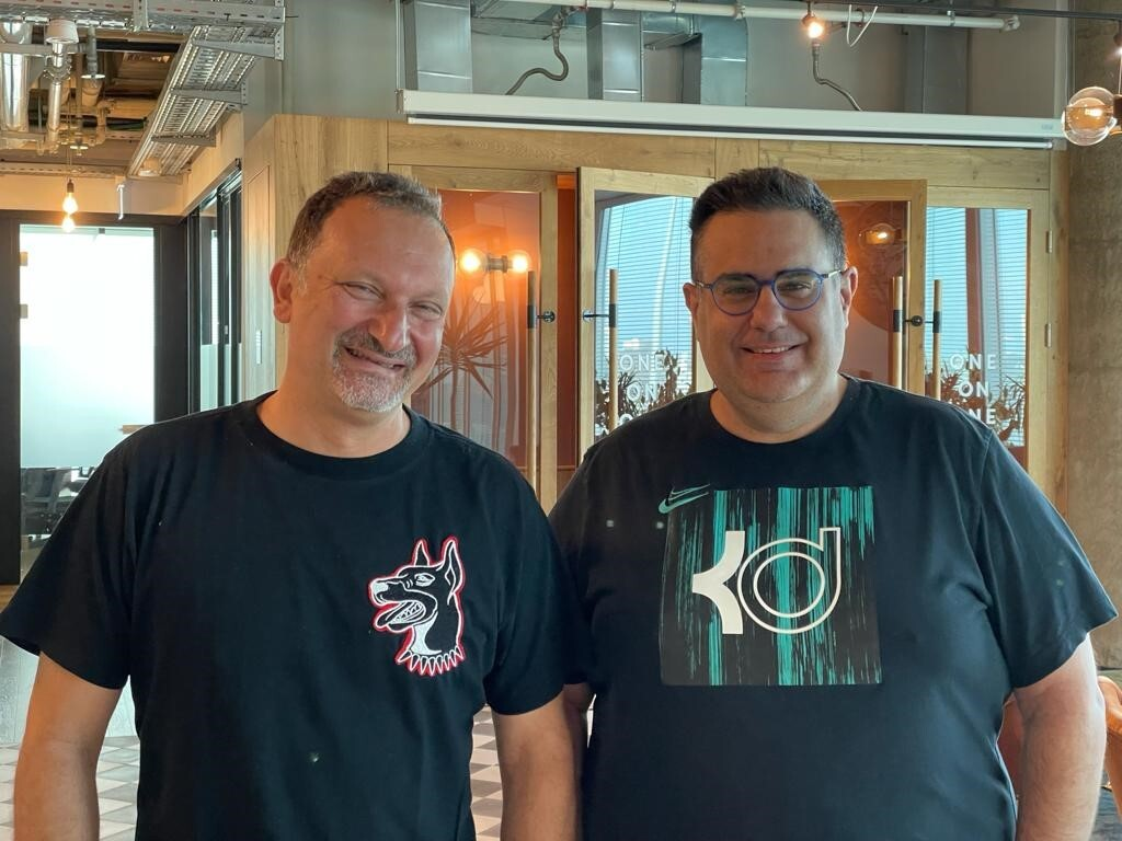 nSure.ai co-founders Alex Zeltcer (left) and Ziv Isaiah. Photo: nSure.ai