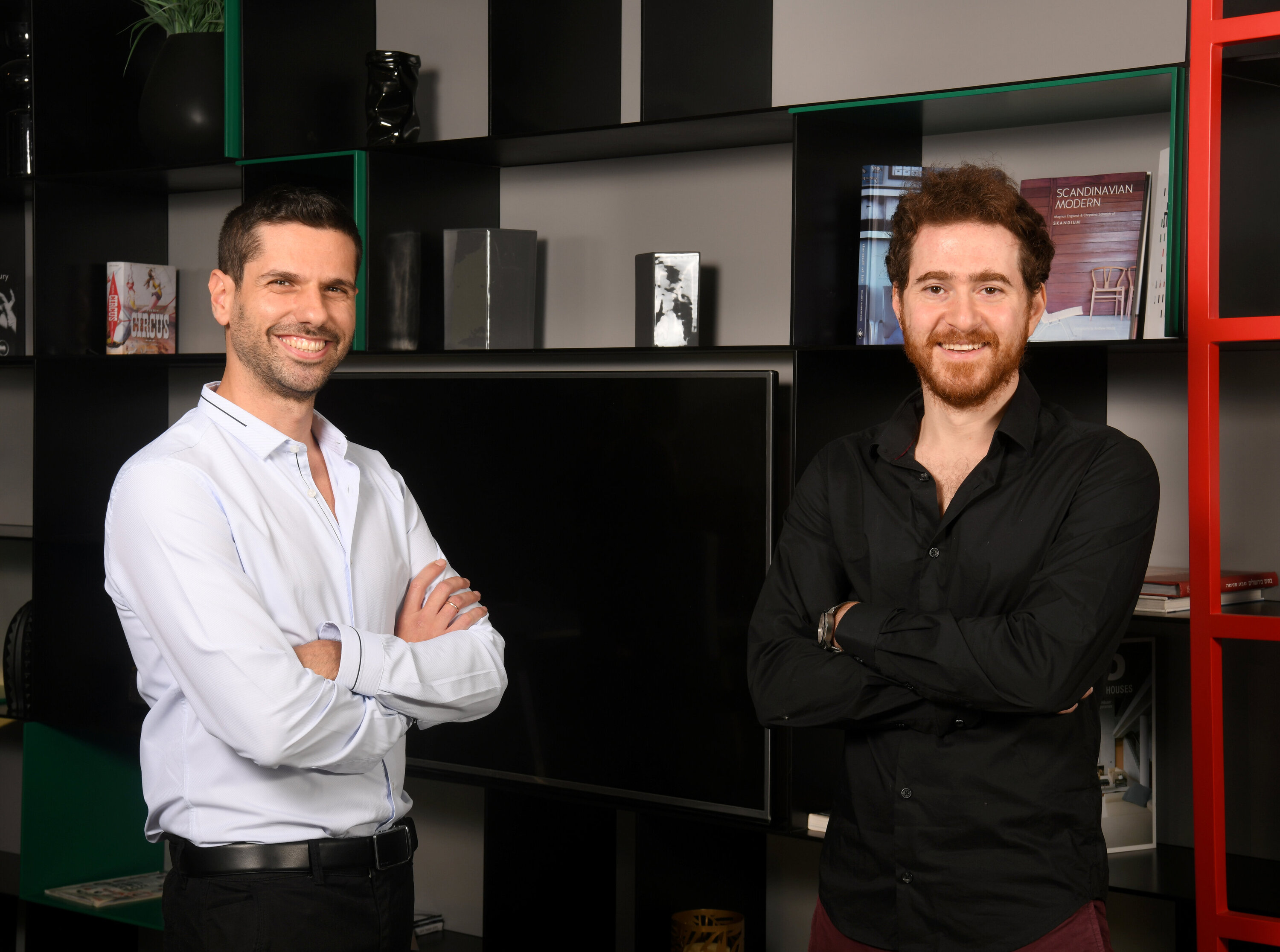 Noname Security co-founders Oz Golan (left) and Shay Levi. Photo: Yossi Zeliger