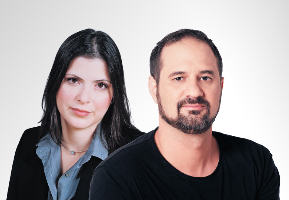 Odelia Pollak, founder and CEO of ESOP (Left) and Tal Dori, CEO of IBI Capital Photo: Ilan Basor