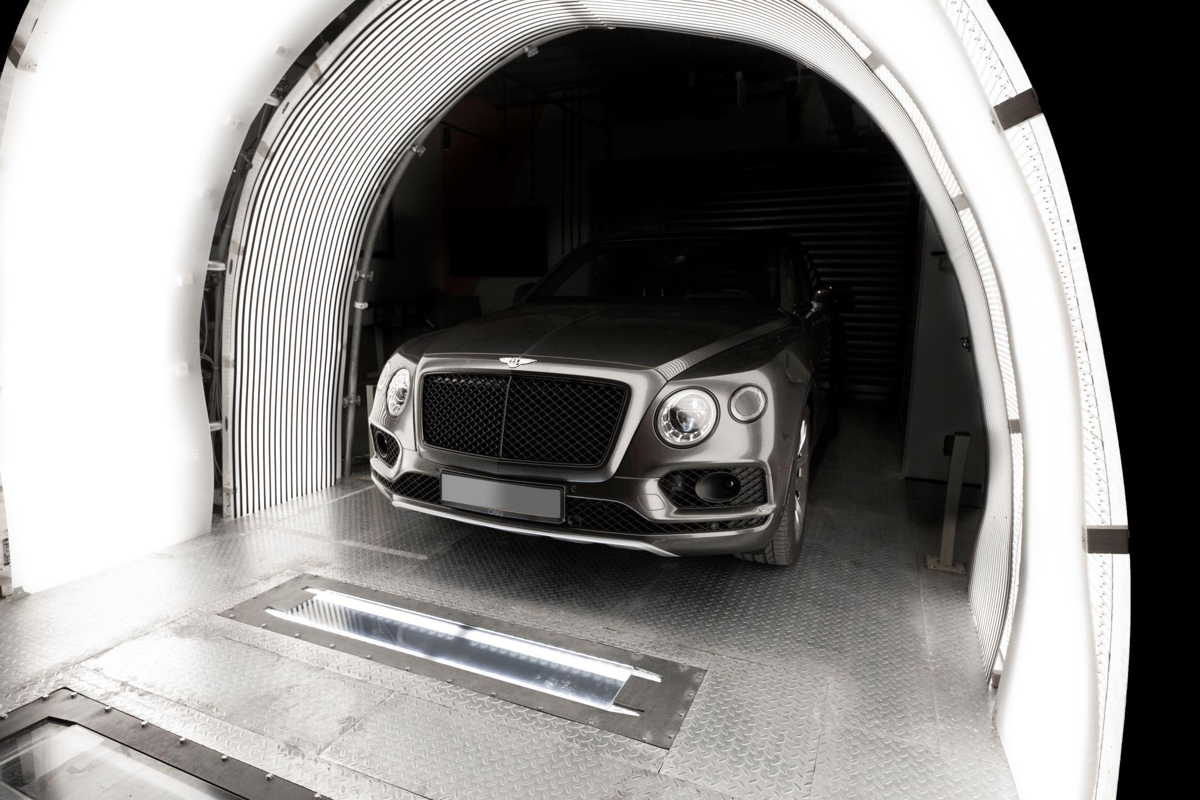 UVeye's car scanning system Photo: UVeye